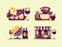 Wine Spot Illustration