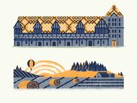 Burgundy landmarks