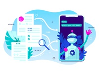 Online form being transformed into a Chatbot