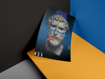 National Gallery of Victoria - Poster Concept #1 poster art art collection gallery poster concept design concept art concept design