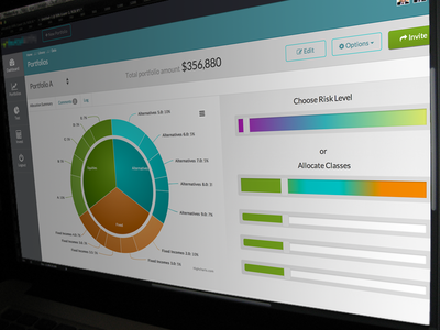 Financial Web Application ( In Progress ) web design dashboard web application corporate