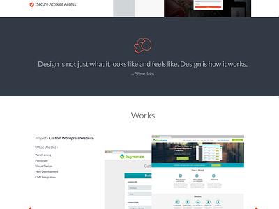 Responsive Self Branding & Website branding illustration web design responsive web self promo website