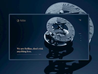 Rellius Group - Landing Page