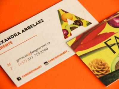 Faró Gourmet B-Cards
