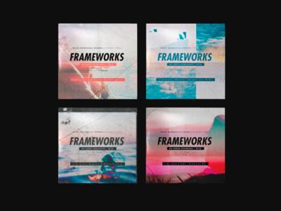Frameworks Artwork tour frameworks deathwish post-hardcore hardcore artwork gig music