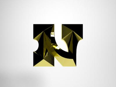 Golden N custom type lettering letterforms heavy ultrabold slab slab serif egypt type typography