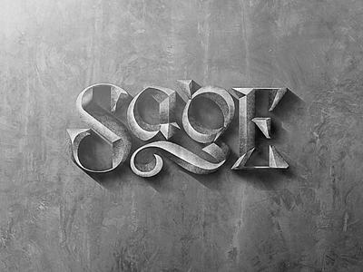 Sage wordmark australia rap hip hop wordmark custom type type lettering uncial