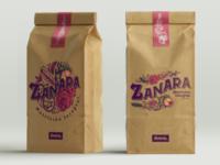 Zanara branding