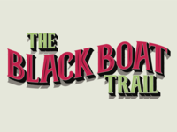 The black boat trail