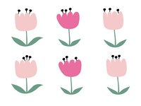Flowers in bloom
