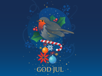 God Jul + Merry Christmas