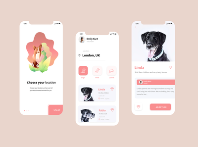🐈Mobile App - Pets Adoption 🐕