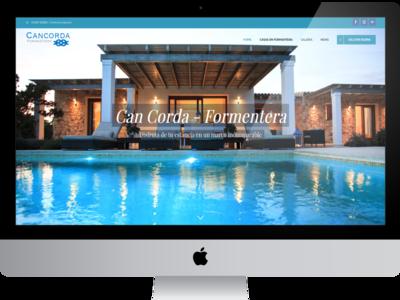 Web Cancorda logo graphic  design responsive web design