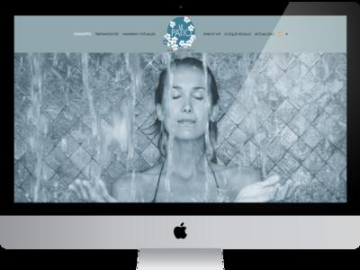 Web Le Patio Spa wordpress image gallery ecommerce logo ui web design responsive