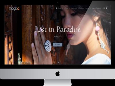 Web Magica seo wordpress graphic  design logo responsive web design