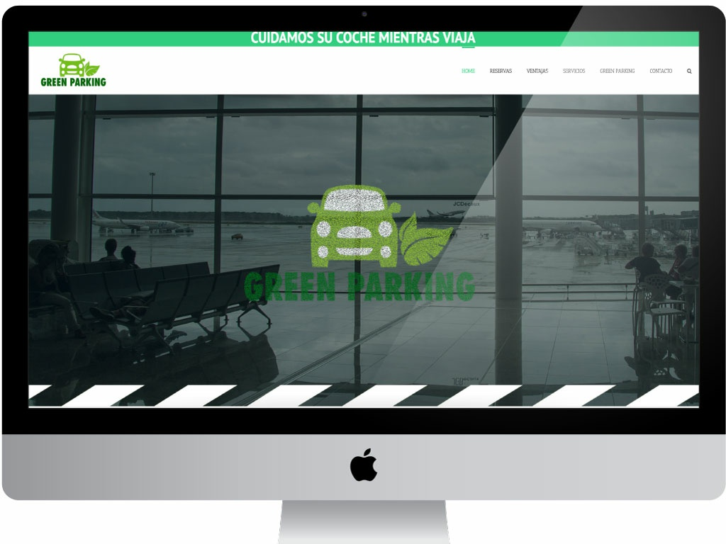 Greenparking Web Design svg animation particle ecofriendly responsive vector design ux designer ecommerce wordpress graphic  design web design