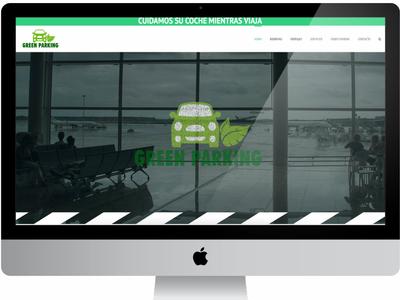 Greenparking Web Design