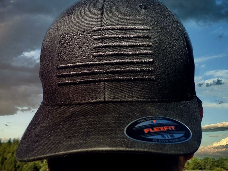 Black American Flag Hat at Eagle Six Gear by Jim on Dribbble