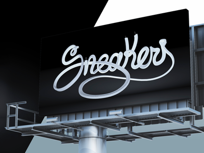 Sneakers 3D lettering sneakers timelapse tutorial for hiring hire spain diseñador grafico malaga diseño gráfico malaga mockup cinema4d jesus carrasco garcia jesus carrasco graphic designer graphic design 3d lettering j. signer j signer j.signer jsigner
