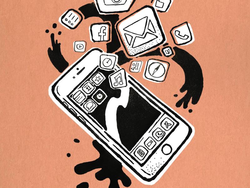 Apple Fanzine graphicdesign designer ux ui apps iphone illustration jesuscarrasco jsigner art dribbble