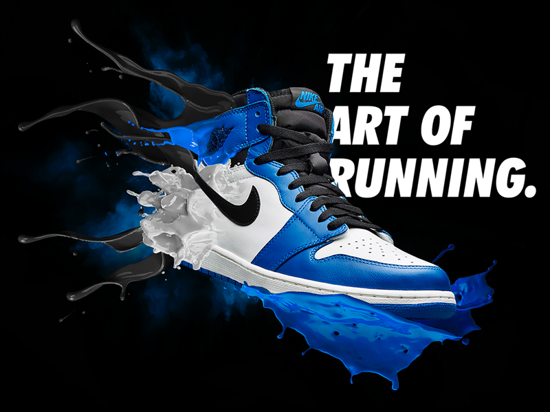 Nike Poster by J. Signer on Dribbble