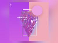 Swirling Cone
