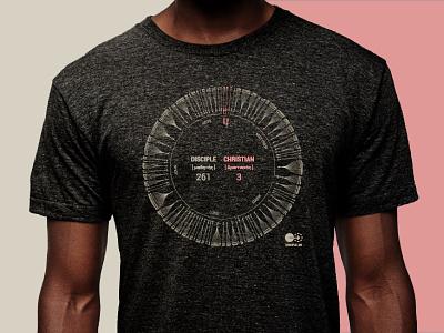 Discipleship Lexicon chart lexicon data data visualization d3js d3.js tshirt t-shirt shirt christian chart discipleship