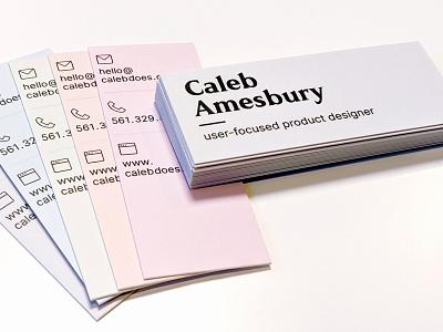 Personal Business Cards 2020 business card design print csv website folio branding brand personal card moo businesscard business cards business card