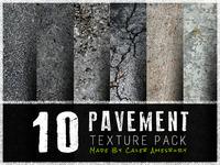 FREEBIE - 10 Pavement Texture Pack