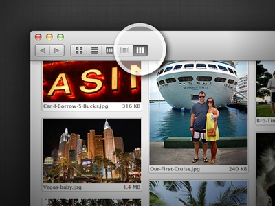 Osx mountain lion finder grid view thumb