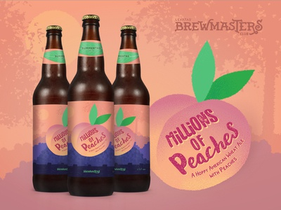 MILLIONS of Peaches  - Levatas Brewmasters