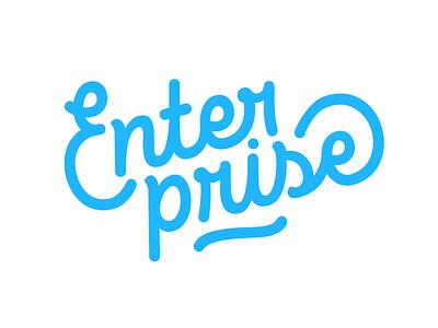 Enterprise marvel marvelapp enterprise custom hand lettering typography logotype logo typerface lettering