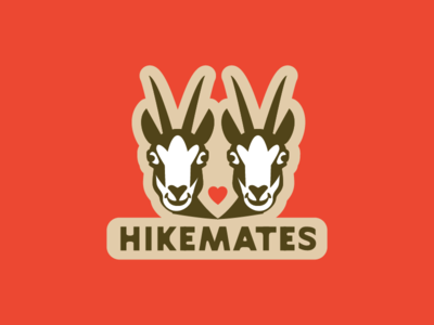 Hikemates sticker