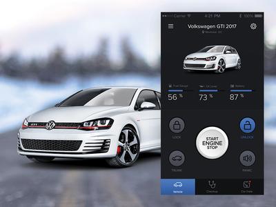 Vehicle Control & Telematics App
