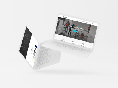 PoxyTech Website website web design ux ui