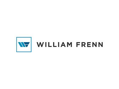 William Frenn illustration icon branding logo identity clean blue design