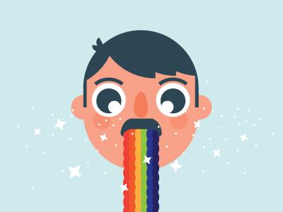 Snapchat now sparkle illustration character kawaii rainbow snapchat