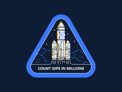 To Infinity and Beyond 🚀 data travel space outer galaxy badge illustration line computer rocket