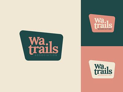 Washington Trails Association identity outdoor branding logo hiking association trail