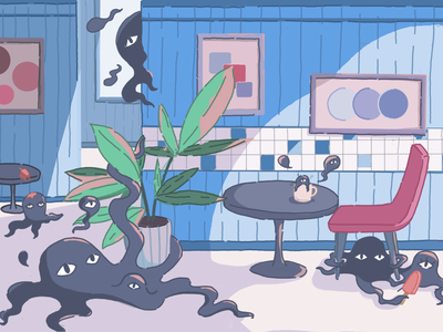 Octopus Monster Cafe