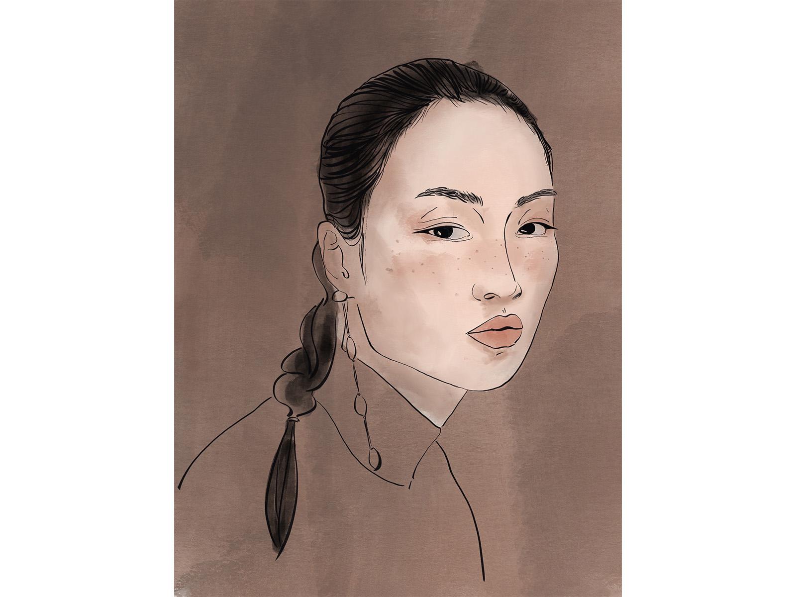 Watercolor woman1 1