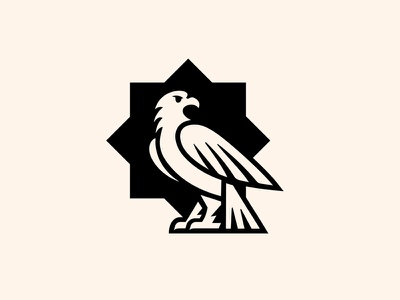 eagle logo simple mark logo branding eagle bird animal