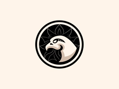 eagle icon simple mark logo eagle branding bird animal