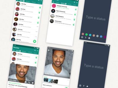 WhatsApp My-Way (Redesign)
