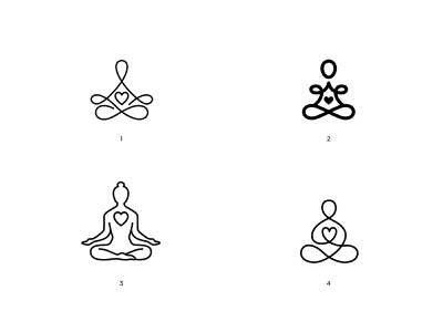 Yoga Marks WIP zen meditation yoga logo