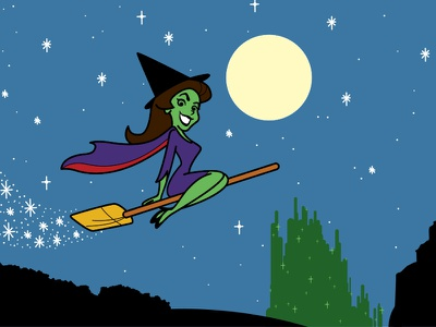 BeWickedWitched emerald city wizard of oz bewitched witch halloween