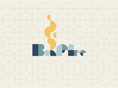 Bonfire 4 circles logo flame fire campfire bonfire