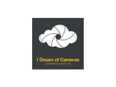 I Dream of Cameras logo dream cloud shutter camera