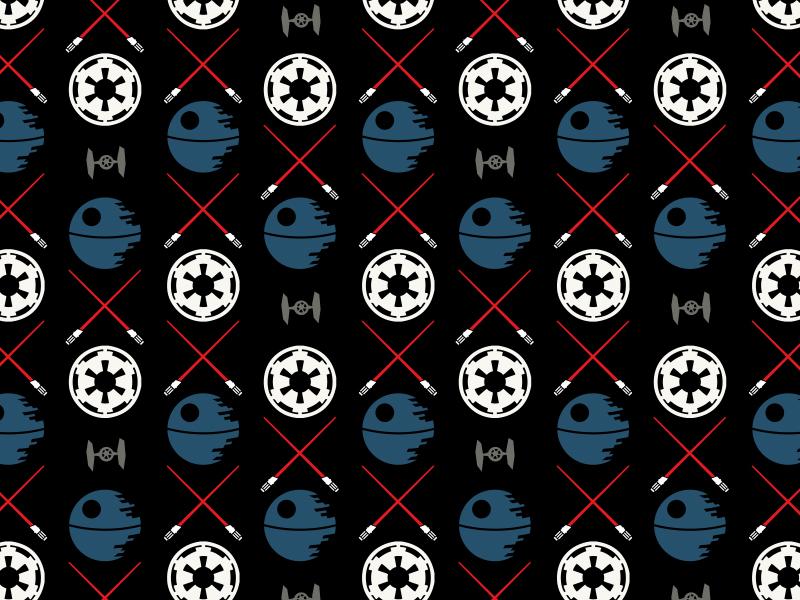 Star Wars Patterns By Keith Greenstein Dribbble Dribbble Gorgeous Star Wars Pattern