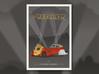 Rocketeer Car poster